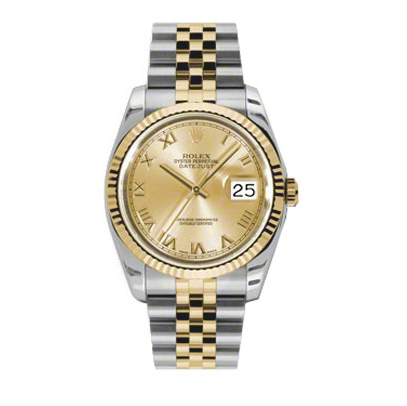 Rolex Datejust Two-Tone Watches