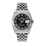 Rolex Datejust 36mm Steel Domed Bezel Jubilee 116200 KRJ