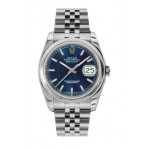 Rolex Datejust 36mm Steel Domed Bezel Jubilee 116200 LXJ