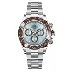 Rolex Cosmograph Daytona Ice Blue Dial Platinum Mens Watch 116506IB