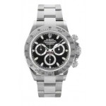 Rolex Daytona Black Index Dial Oyster Bracelet Mens Watch 116520 BLK