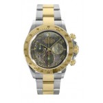 Rolex Daytona Dark Mother Of Pear Roman Numeral Dial Oyster Bracelet Mens Watch 116523DKM