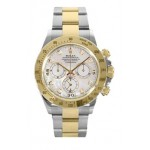 Rolex Daytona Mother Of Pearl Diamond Dial Two Tone Oyster Bracelet 116523MD
