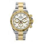 Rolex Daytona White Diamond Dial Oyster Bracelet Mens Watch 116523WD