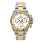 Rolex Daytona White Index Dial Oyster Bracelet Mens Watch 116523WS