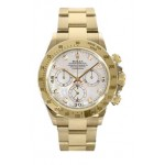 Rolex Daytona MOP Diamond Dial 18K Yellow Gold Oyster Bracelet 116528 MD