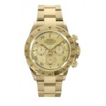 Rolex Daytona Yellow MOP Roman Numeral Dial 18K Yellow Gold 116528 YMR
