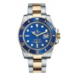 Rolex Submariner Gold And Steel Blue Dial 116613 LB