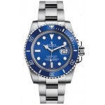 Rolex Submariner White Gold Blue Dial 116619 LB
