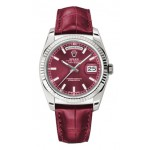 Rolex Day-Date 36 mm Red Index Dial White Gold 118139 RXL