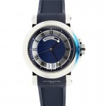 Breguet Marine Blue Dial, Big Date Stainless Steel 5817ST/Y2/5V8